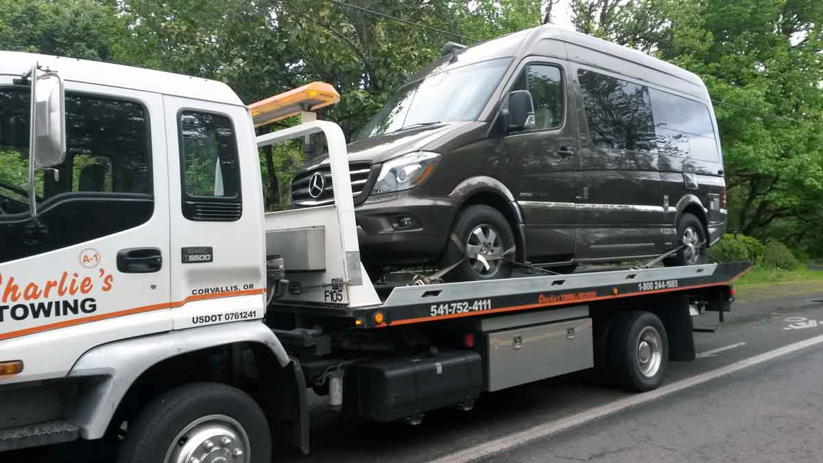 Towing in Corvallis, Albany, Monroe, Philomath